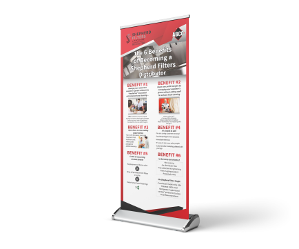 Outreach Promotional Solutions Display Banner