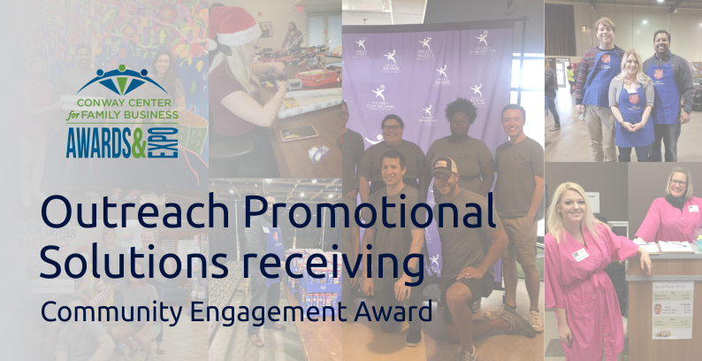 Outreach Promotional Solutions To Receive Community Engagement Award