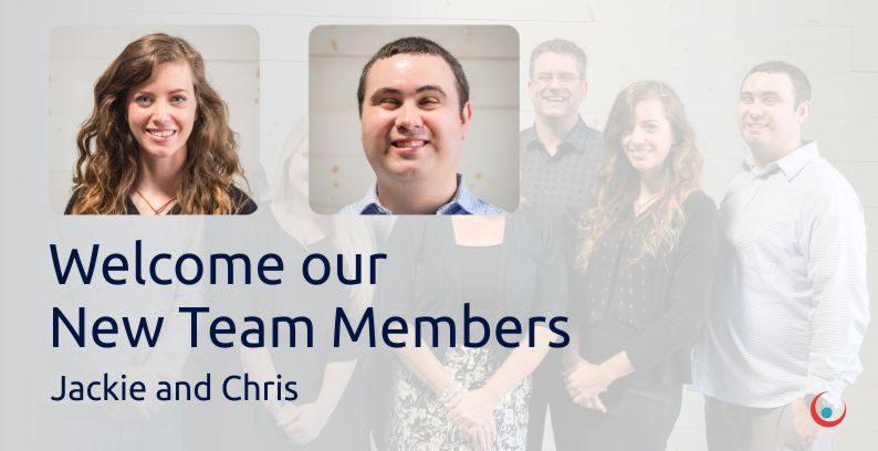 Welcome New Team Members: Chris & Jackie!